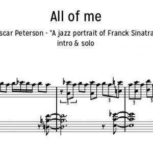 All of me oscar peterson